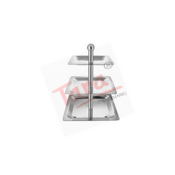 Chafing Dishes (Square Three Tier Stand)