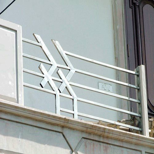 Stainless steel railing and stainless steel welding for Stainless steel balcony grill design