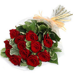 mobile flower service provider of red roses bunch red roses