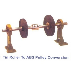 Tin Roller to ABS Pulley Conversion