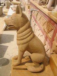 Sandstone Dog
