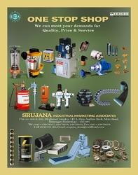 Srujana Industrial Marketing Associates is the one stop shop of CENLUB,POLYFLORO,Kushako Pneumatics