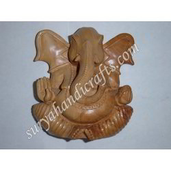 Wooden Carving Ganesha