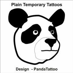 Plain Panda Tattoo