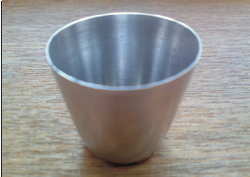 Platinum Crucible Shape