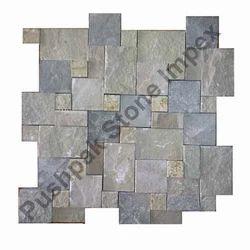 Set Pattern Grey Stone