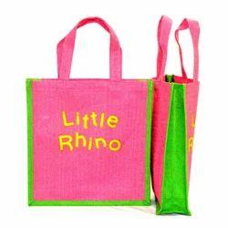 Jute Self Handle Bag