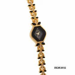 Ladies Fancy Strap Wrist Watch