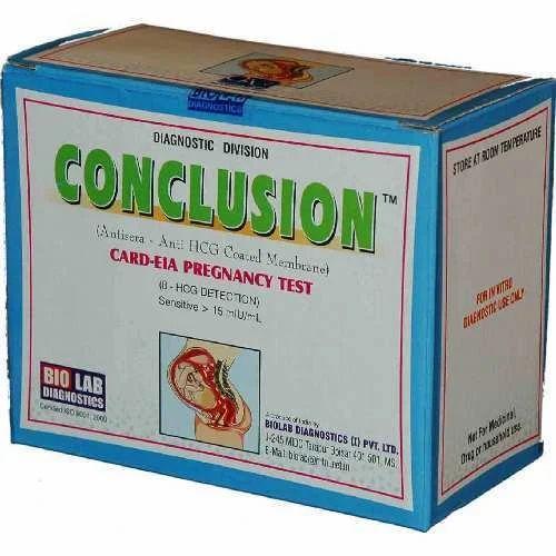 RAPID & UNIQUE PRODUCTS - Rapid HCG Kit - Conclusion Cards (IS6210