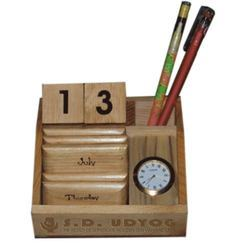 Wooden Desk Calendar At Rs 255 Number Lakdi Ka Calendar S D