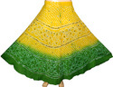 Indian Cotton Bandhini Skirts