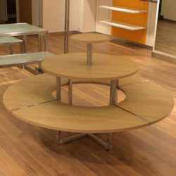 Round Display Tables