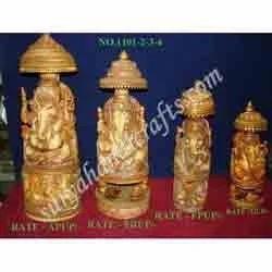 Resin Chatri Ganesh