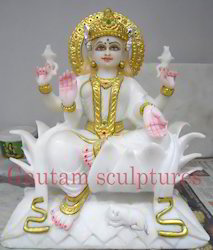 Marble Lakshmi Statues