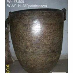 Bronze Metallic Pots
