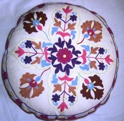 Suzani Designer Floor Pillow Cover
