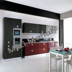 Straight Line Luxury Kitchen