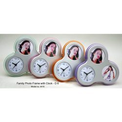 Table Top Clocks with Photo Frame