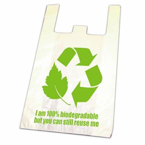 Bio-Degradable Plastic Bags, Eco-friendly Plastic Bags