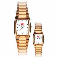 Golden Wrist Watches