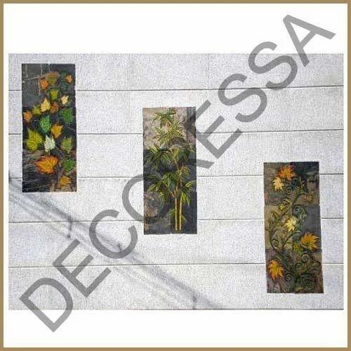 Granite Mural Flowers