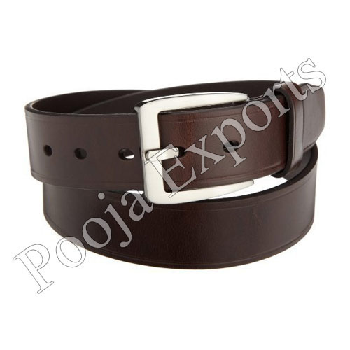 Brown Mens Leather Belt, Packaging Type: Box