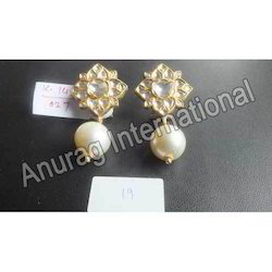 Kundan Pearls Earrings