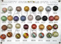 Various Assorted Crochet Beads, Size: Free