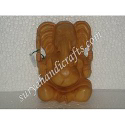 Wooden Ganesha With Sitting