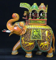 Sandalwood Creations Richness Wood Handicraft Idols Trader From Jaipur