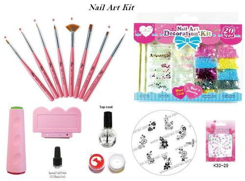 Konad nail art kit set konad nail art kits sravi enterprises konad nail art kit set prinsesfo Image collections
