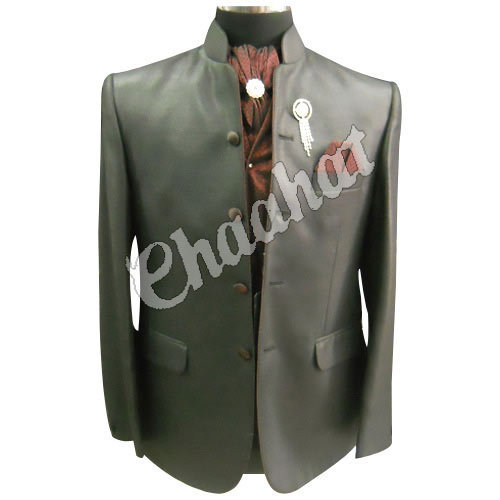 Chaahat Grey Mens Two Piece Suit