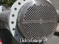 Titanium Heat Exchanger U Tube Style With Solid Titanium Tubesheets And Titanium Shell