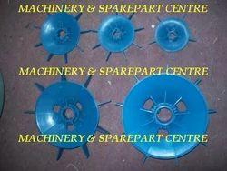 Blue PVC Motor Cooling Fan, Voltage : 415