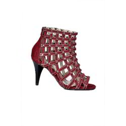 Netted Ankle Boot