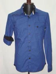 Plain & Chambray Long Sleeves Shirts