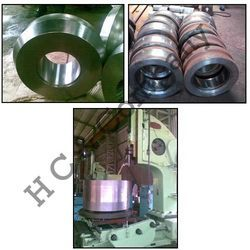 Forged Rolled Ring - Ultrasonic Inspection of Forging