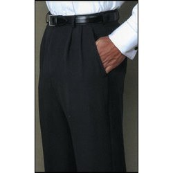 Cotton Black Gents Trousers