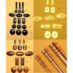 Surine Wood Needles & Buttons