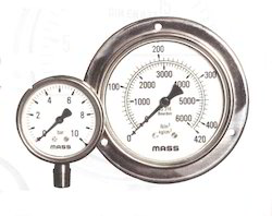 SS Glycerin Filled Gauges