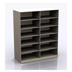 Rectangular Living Space Open File Storage Cabinet