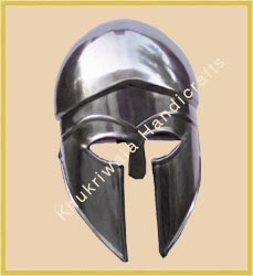 Corinthian Helmet In Steel