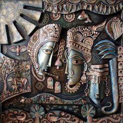 mural paintings radha krishna mural manufacturer from craftis corner