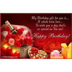 Birthday greeting card in chennai tamil nadu india indiamart birthday greeting card m4hsunfo Image collections