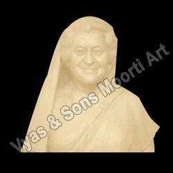 Marble Indira Gandhi Busts