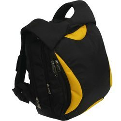 Backpack Black Yellow