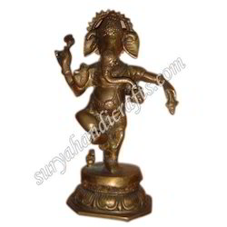 Brass Ganesh Ji With Standing