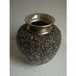 Copper Carved Pot
