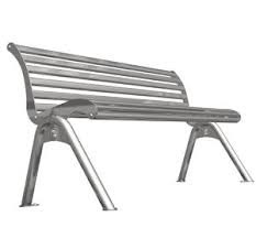 Stainless Steel Park Chairs