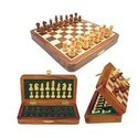 Wooden Chess Box